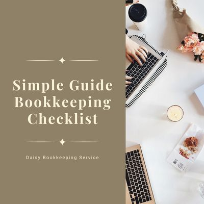 free guide bookkeeping checklist