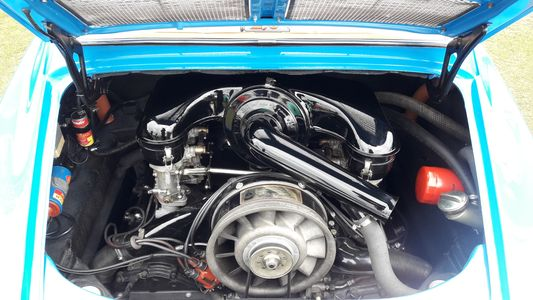 1968 Porsche 911 Engine Bay