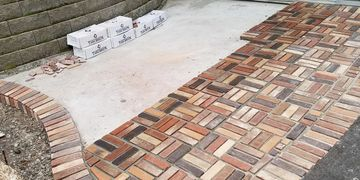 We install Brick! Patios,