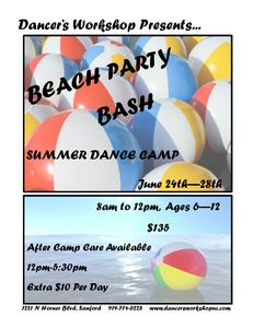 Beach Party Bash-June 24-26