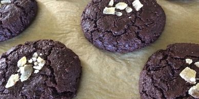 Ginger fudge brownie cookie