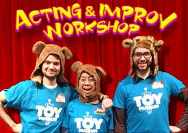 Acting and Improv Workshops available for classrooms and recess time.