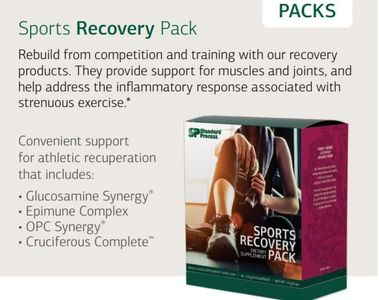 Sports Recovery Nutritional Supplements