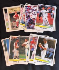 1990 Baseball MLB Panini Stickers 75 Stickers Intact  Various Players