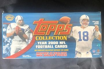 Topps Collection Peyton Manning Cover Year 2000 Footaball Cards