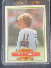 Phil Simms Rookie Card New York Giants QB