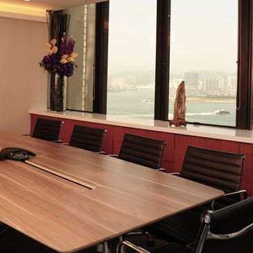 Our seaview meeting rooms are beautifully designed and come with different sizes to suit your needs.