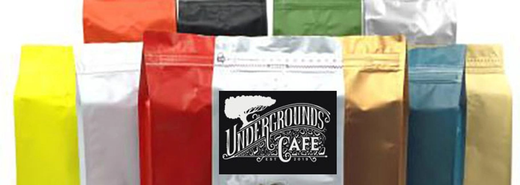 Coffee fundraising by Undergrounds Cafe & Coffee Houses.
