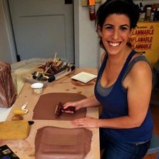 Ceramic artist Jill Roig of Scottsdale, Arizona creates Eco-Pottery, Art for the Green Home.