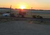 SUN RISE OVER OLD CORRAL HOTEL IN CENTENNIAL,WY. LAST DAY -  6 DAYS 1700 MILES  GREAT TRIP WITH GOOD FRIENDS