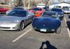 Cliff & Margette's C5 & Rick & Jennie's  C3 at the 25th Annual Hope Toys for Tots Run