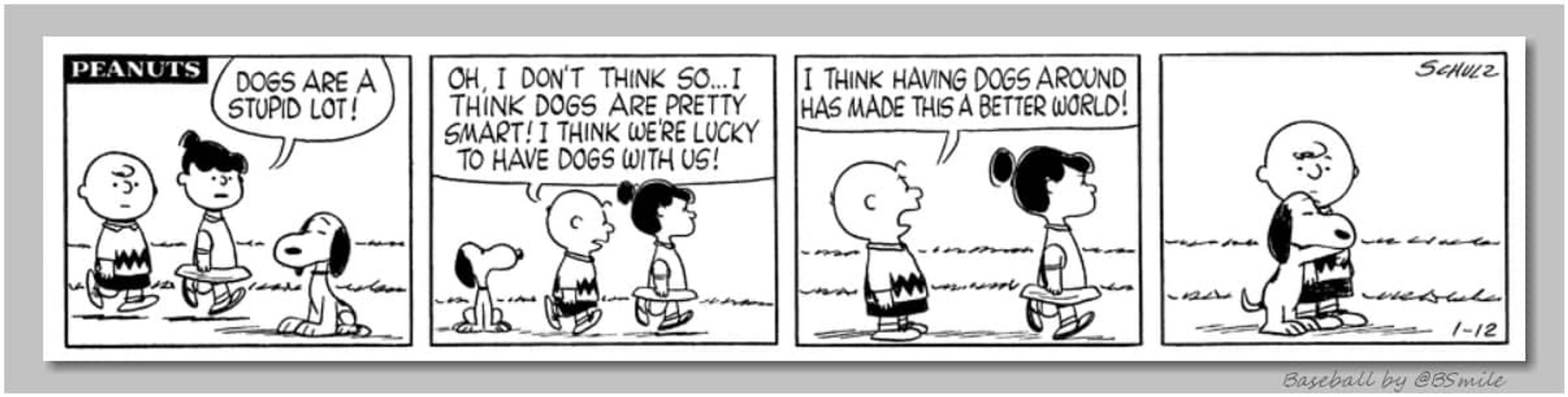 ~ Charlie Brown (Classic Peanuts - January 12, 1959)