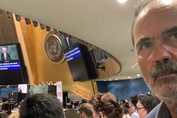Gustavo Madero participa en el High-Level Political Forum on Sustainable Development de la ONU