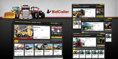 Online Auction, Webcast, AuctionTime, BidCaller, Screen Shot, Auctioneer, Auctions,