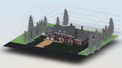 Click on image to explore 3D model of current residential project-not available on mobile platforms