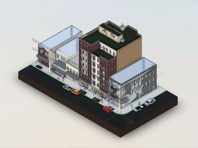 Reuben Gross utilizes Revit software to create realistic virtual models. Click the image above.