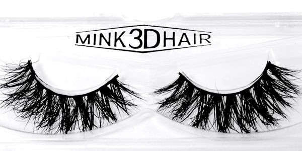 3D Mink Lashes three dimensional lashes with a wispy layered look.