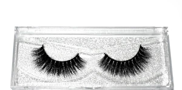 Silk Lashes shorter taper with a semi- gloss finish.