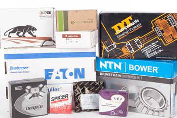 new parts in stock like Eaton Fuller Transmission Parts, Spicer Parts, NTN Bower Bearings, Meritor Parts, New Star Parts, DT Components Bearings