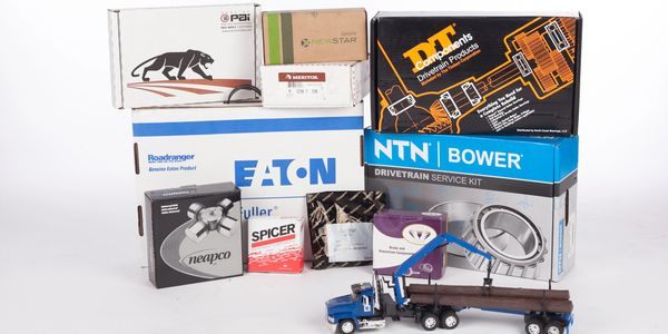 all of your new truck parts both O.E. and quality aftermarket in stock like NTN Bower, Eaton Fuller Transmission Parts, Spicer Parts, Neapco driveline Parts, Meritor end yokes and differential parts
