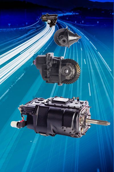 H&H Truck Parts reman Eaton Fuller transmission, RS404 differential, DS404 differential,TAS65-189 power steering gear