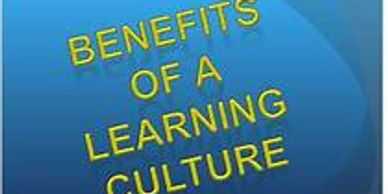 Building a Learning Culture Benefits, Continuous improvements