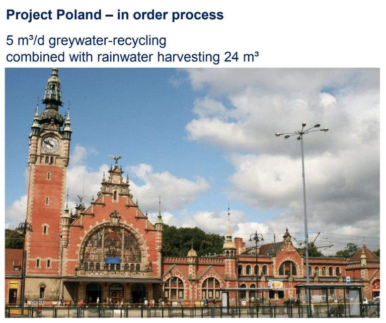 Cathedral - Historical Building Upgrade of Water Management  System, Project - Poland.