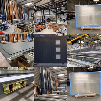 Aluminium Gates Factory based in the UK. Aluminium Gates are designed and made in-house.