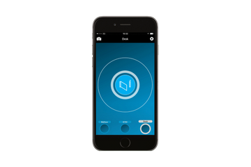 CAME Bluetooth app allows you to open gates from your car. open your aluminium gates in style