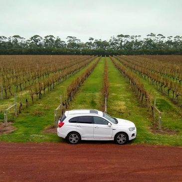 7 Seat SUV Charter Vehicle for Margaret River Wine Tours