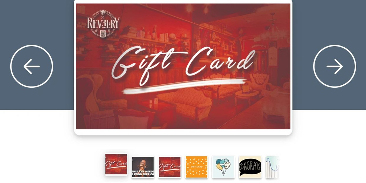 Gift Card for Revelry Lake Worth