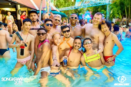 gCircuit Party Package 2020 Songkran in Bangkok, Poolparty