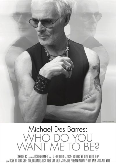 Michael Des Barres, Musician, Actor and broadcaster.