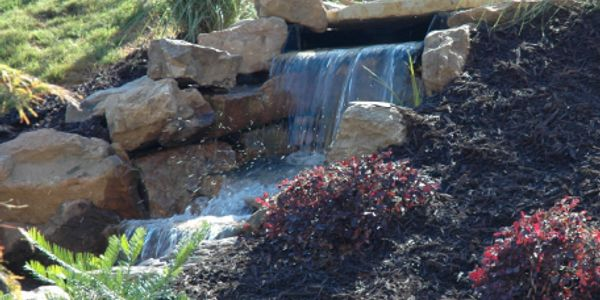 Water feature desiggned and built by CEL