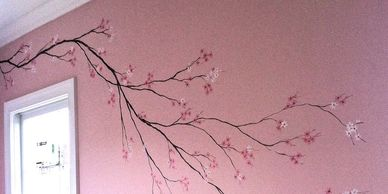Add custom art to a wall in your home at an affordable price.  Share your ideas, get a design sketch