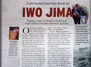 A personal journey back to Iwo Jima