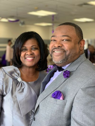 Pastor and First Lady Jackson