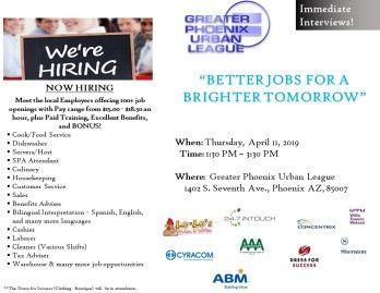 Job Fair/Hiring Event April 11