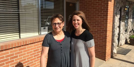 Casey helped Mary Lynn with the purchase of her forever home in El Reno