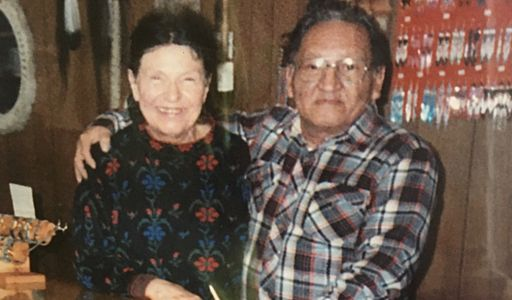 Howard and Allene Pilcher, Founders, at their store on North 30th Street, Florence (Omaha) Nebraska
