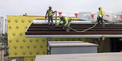 Lightweight Insulating Concrete Roof Deck