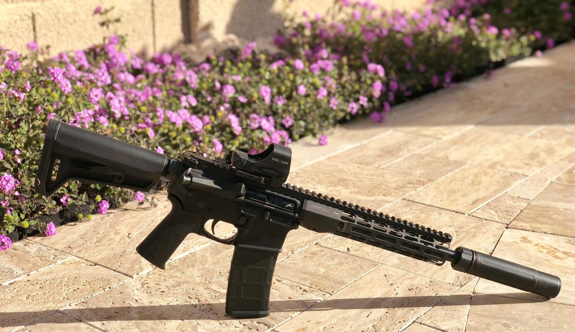 "Just an option of a LEO Service rifle, 10.5"" Suppressed.  Quality parts, and guaranteed."
