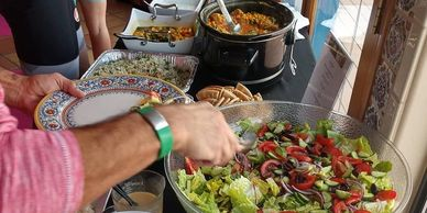 Cycling Camp Gluten free, Dairy free, organic, delicious, fuel, dietary restrictions, group, vrbo,