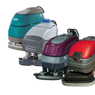 automatic floor scrubber line-up