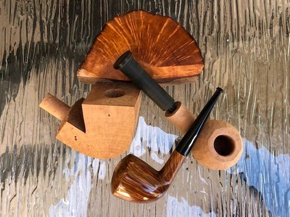 Handmade Pipes by Dave Neeb of MKELAW PIPES