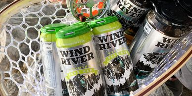wind river brewing company beer cans