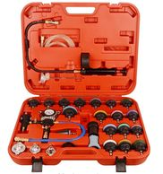 Universal Radiator Pressure Tester and Vacuum Cooling System Kit