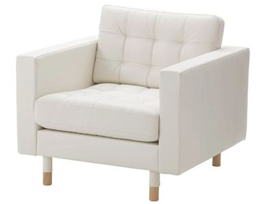 white lounge chair rental