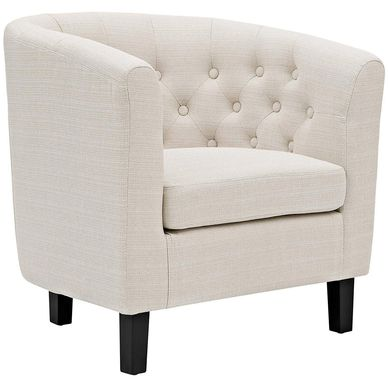 tufted lounge chair for wedding