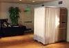Bamboo Photo Booth Ivory Curtain